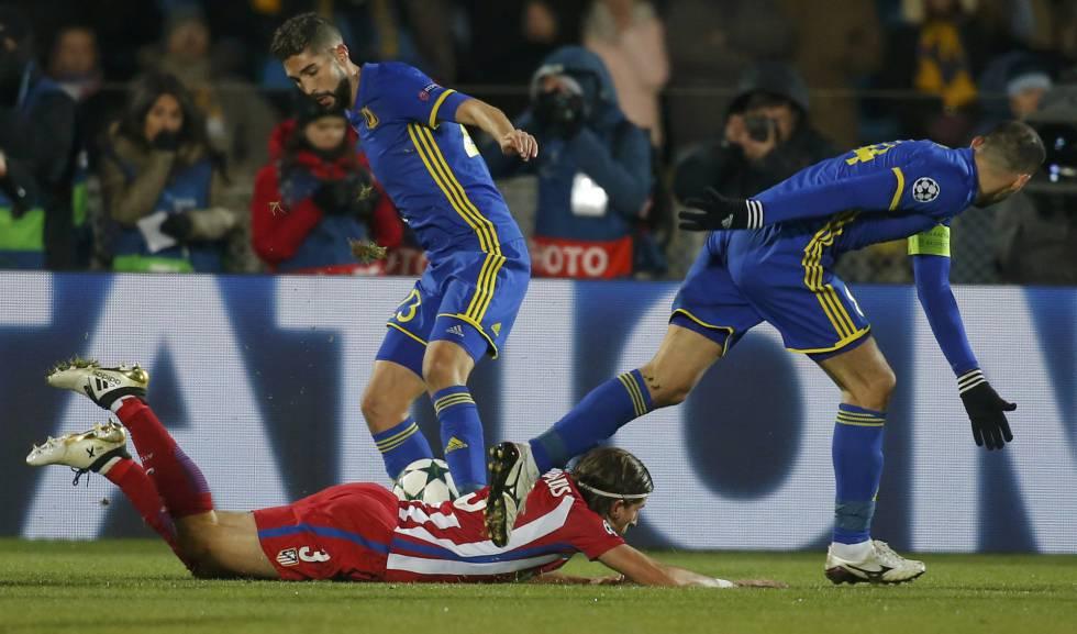Momento del Rostov-Atlético
