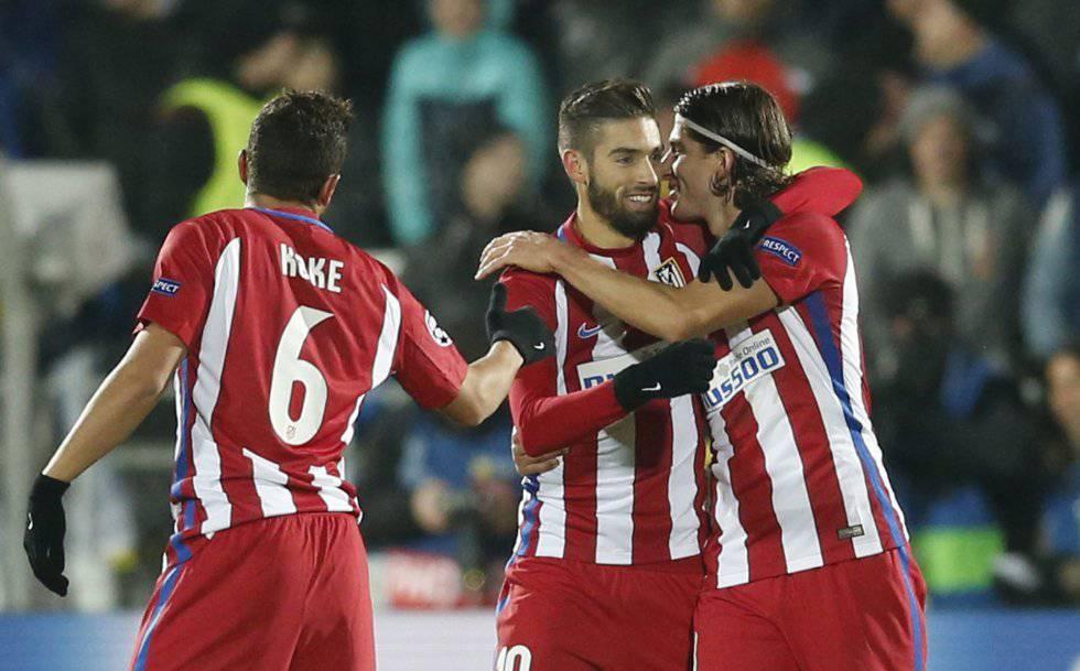 Carrasco concreta la autoridad del Atlético ante el Rostov