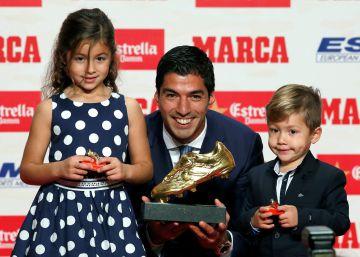 Bota de Oro para Luis Suárez; las gracias, al vecino