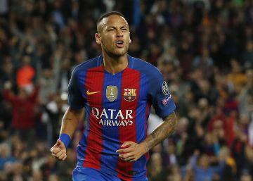 Neymar renueva por el Barcelona hasta 2021