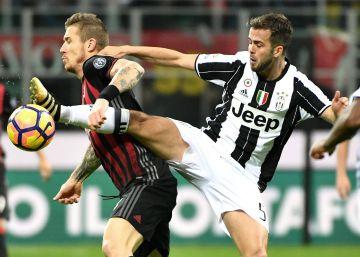 El Milan derrota a la Juventus y comprime la liga italiana