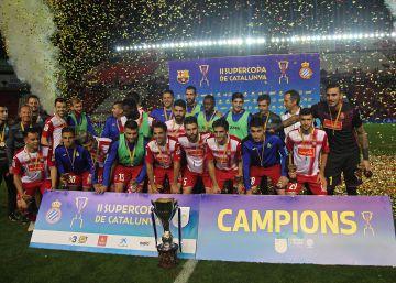 El Espanyol derrota a los suplentes del Barcelona