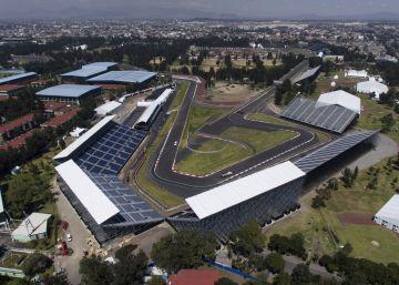 Una vista de la pista del autódromo Hermanos Rodríguez