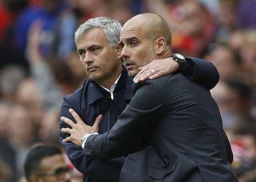 Mourinho y Guardiola se citan en el bache