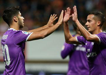 El Madrid se toma en serio la Copa y golea a la Cultural