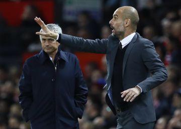Guardiola cae ante Mourinho y se despide de su primer título