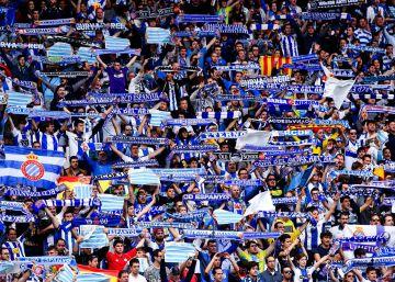 El Espanyol clausura la grada de animación