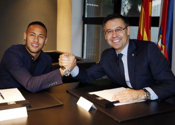 Bartomeu se somete a la moción de confianza del socio por el 'caso Neymar'