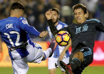 La Real Sociedad gana en Leganés sin sufrimiento