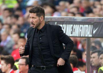 """Simeone: """"Dominamos el juego en campo contrario"""""""