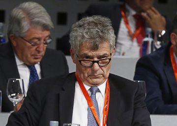 Villar despide a Jorge Pérez, su rival en las elecciones