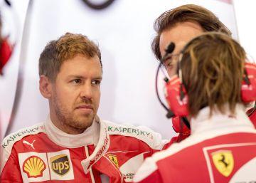 Vettel, rojo de rabia