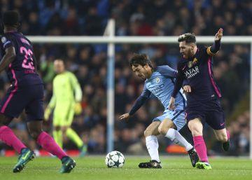 El Manchester City de Guardiola se impone 3-1 al Barcelona