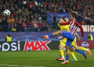 El minuto 93 sonríe al Atlético frente al Rostov