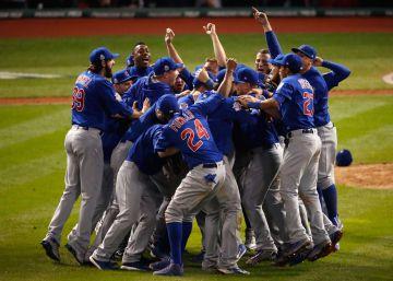 Los Chicago Cubs ganan la Serie Mundial de béisbol