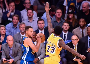 Campanada de los Lakers ante los Warriors