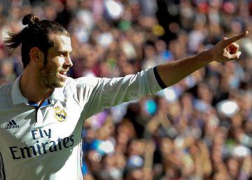 El Madrid golea al Leganés en el Bernabéu con un gran Bale