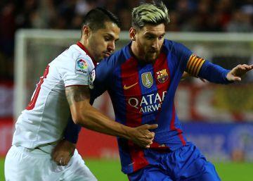 El Barcelona se lleva un triunfo muy trabajado en Sevilla