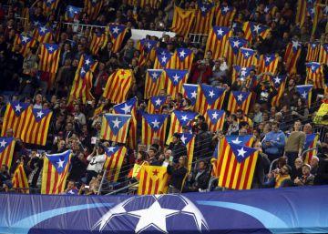 El Barça defiende ante el TAS que la 'estelada' no ofende