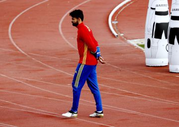 Diego Costa abandona la concentración y lo reemplaza Iago Aspas