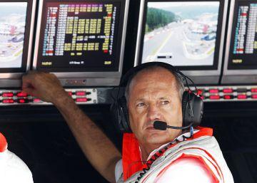 McLaren, contra su jefe