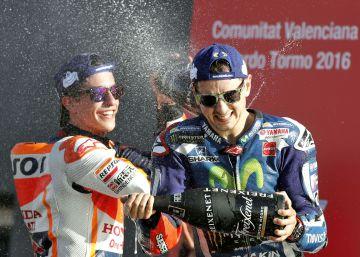 Lorenzo se despide de Yamaha con un triunfo