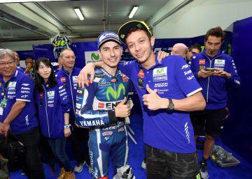 """Rossi: """"Ha sido una motivación tener un compañero como Jorge"""""""