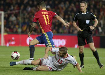 España empata a Inglaterra en el minuto 95