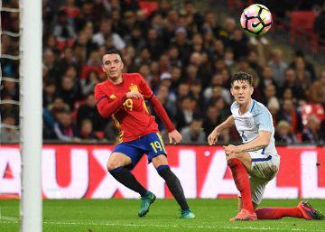 Aspas maquilla a España ante Inglaterra