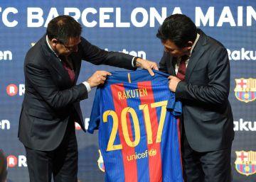 Rakuten patrocinará al Barça por 55 millones de euros