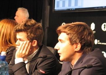 Carlsen está ya harto de golpear el muro de Kariakin