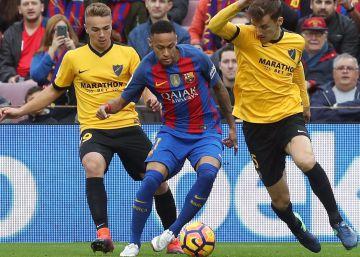 El Barcelona no puede con el Málaga (0-0)