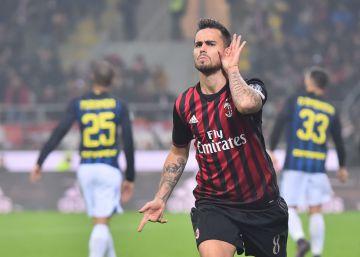 Los goles de Suso no bastan al Milan