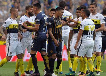 La Bombonera enfurece por otra provocación de Teo Gutiérrez