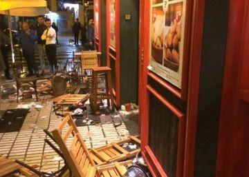 14 detenidos por la agresión de ultras del Sevilla a aficionados de la Juventus