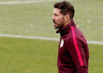 """Simeone: """"Me pagan por ganar y jugamos a eso desde hace cinco años"""