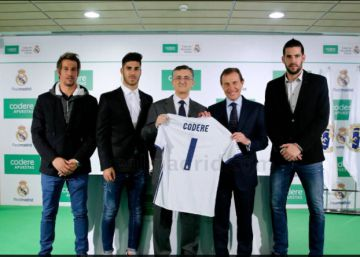 Codere se alía con el Madrid para los próximos tres años