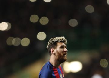 Messi baila en el Celtic Park