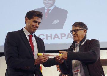 Chapado sucede a Odriozola como presidente del atletismo