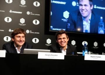 Carlsen toma la sartén por el mango