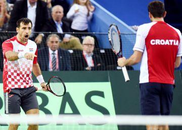 Cilic y Dodig dejan a Croacia a un punto del título