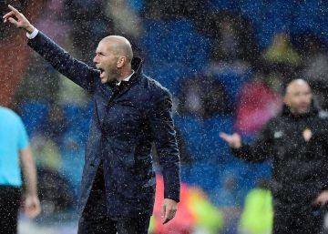 """Zidane: """"Sólo estoy contento con el resultado"""""""