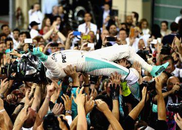 Nico Rosberg, campeón del mundo de Fórmula 1
