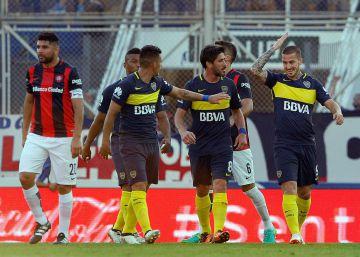 Boca gana en la casa de San Lorenzo y se prende en la lucha por la liga (2-1)