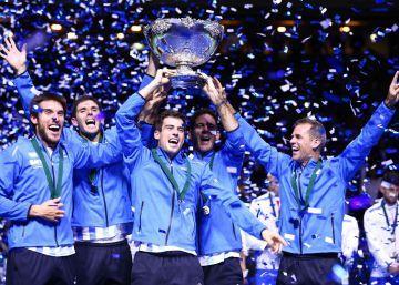 Argentina gana la Copa Davis por primera vez en la historia