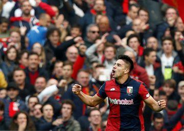 Gio Simeone, familia y gol