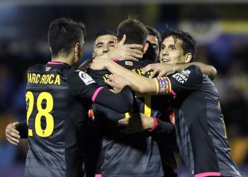 El Espanyol se salva ante el Alcorcón
