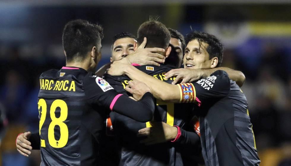 Copa del rey el espanyol se salva ante el alcorc n deportes el pa s - Muebles rey alcorcon ...