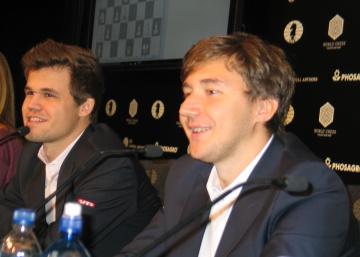 Así será el desempate entre Carlsen-Kariakin en Nueva York