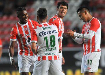Necaxa y América empatan (1-1) en la ida de las semifinales